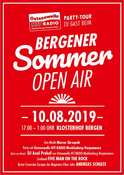 Sommer Open Air Party