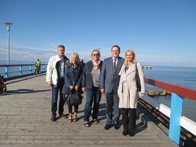 Delegation aus Bergen auf Rügen nach Palanga