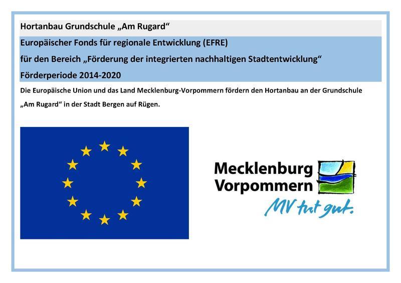 EU-Hinweis Hortanbau Grundschule